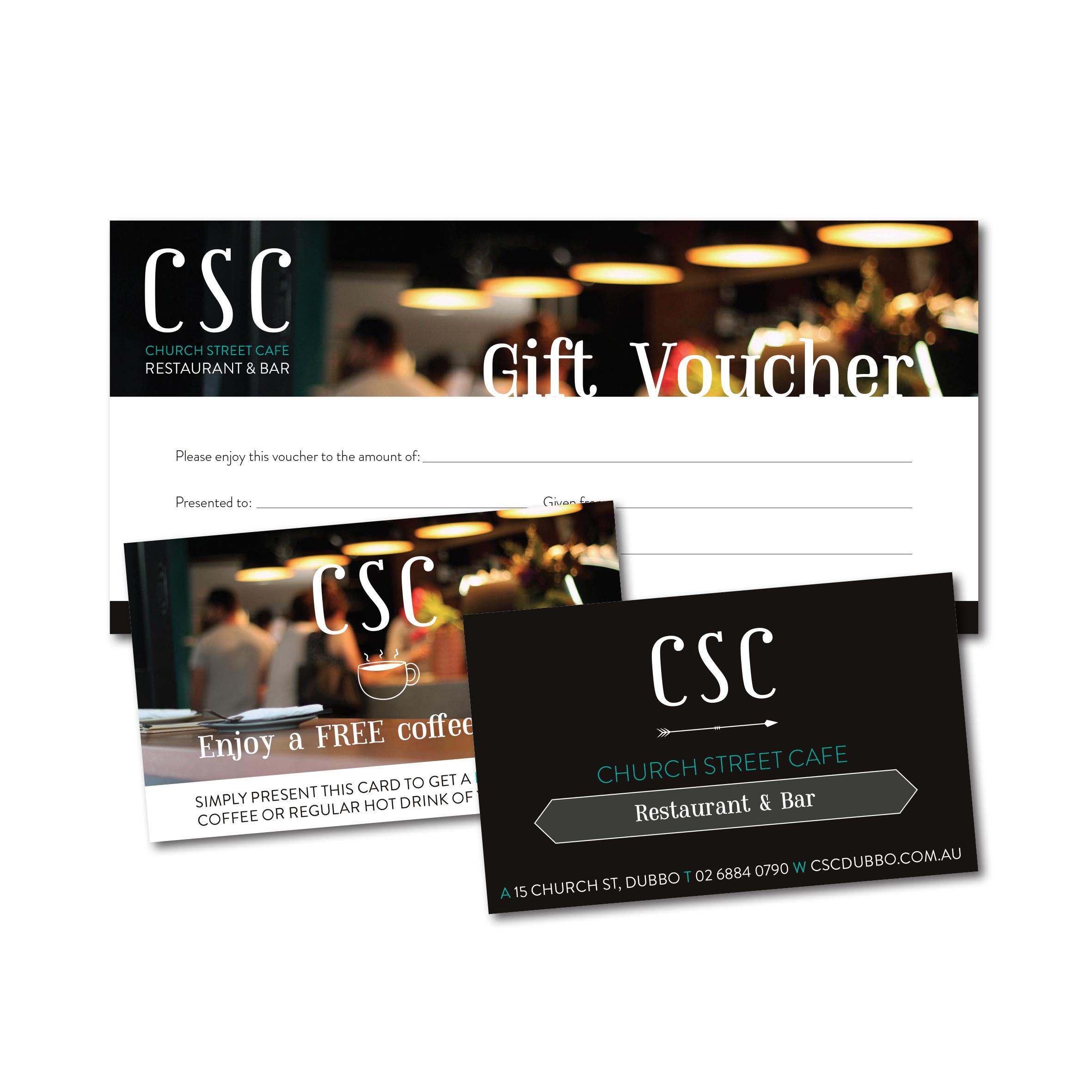 CSC Gift Vouchers