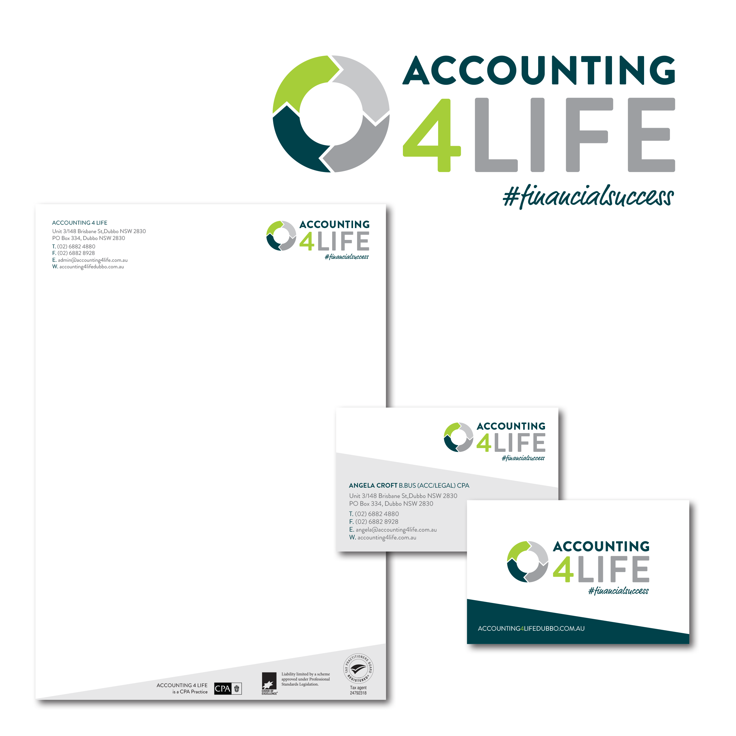 A4L Logo & Stationery