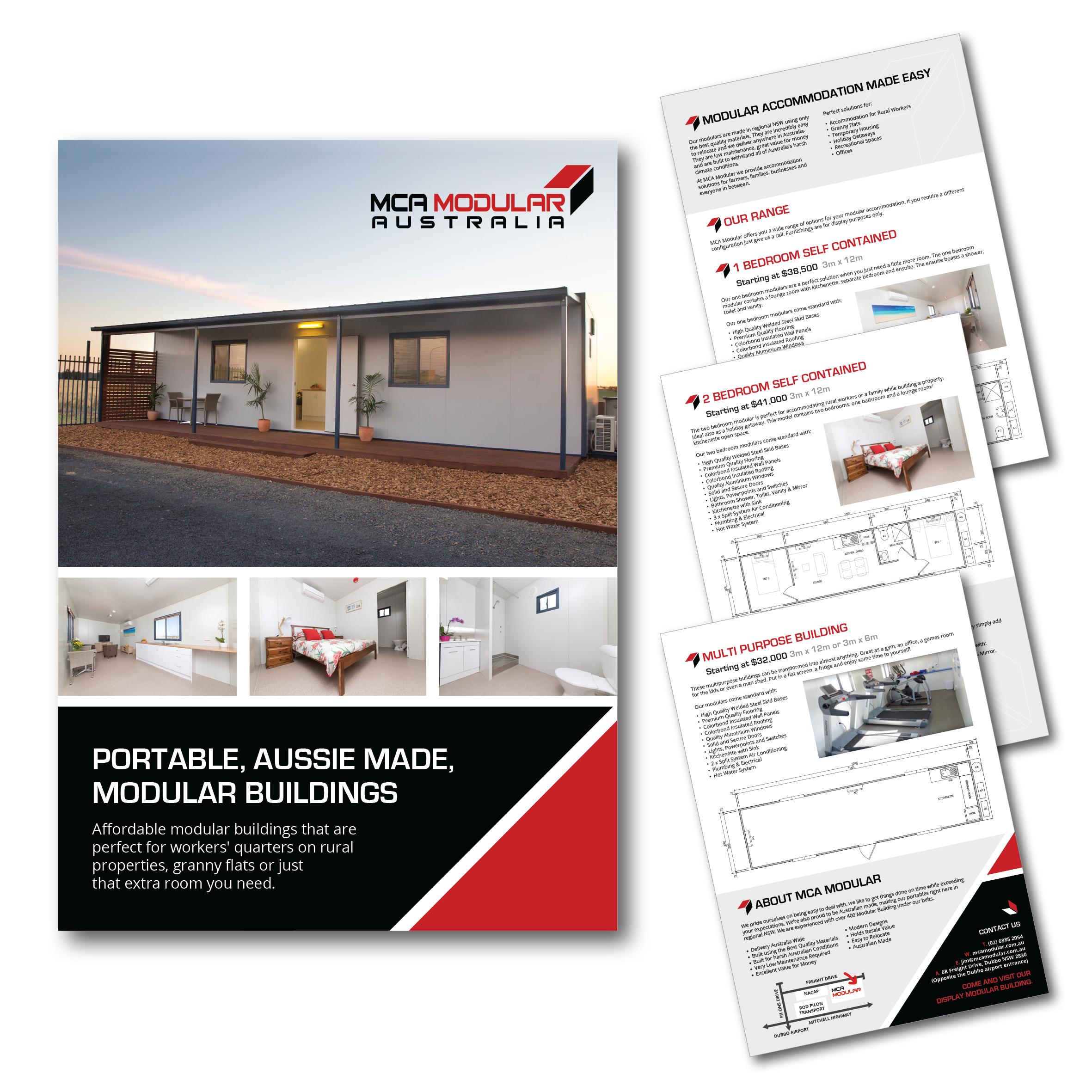 MCA Modular Brochure