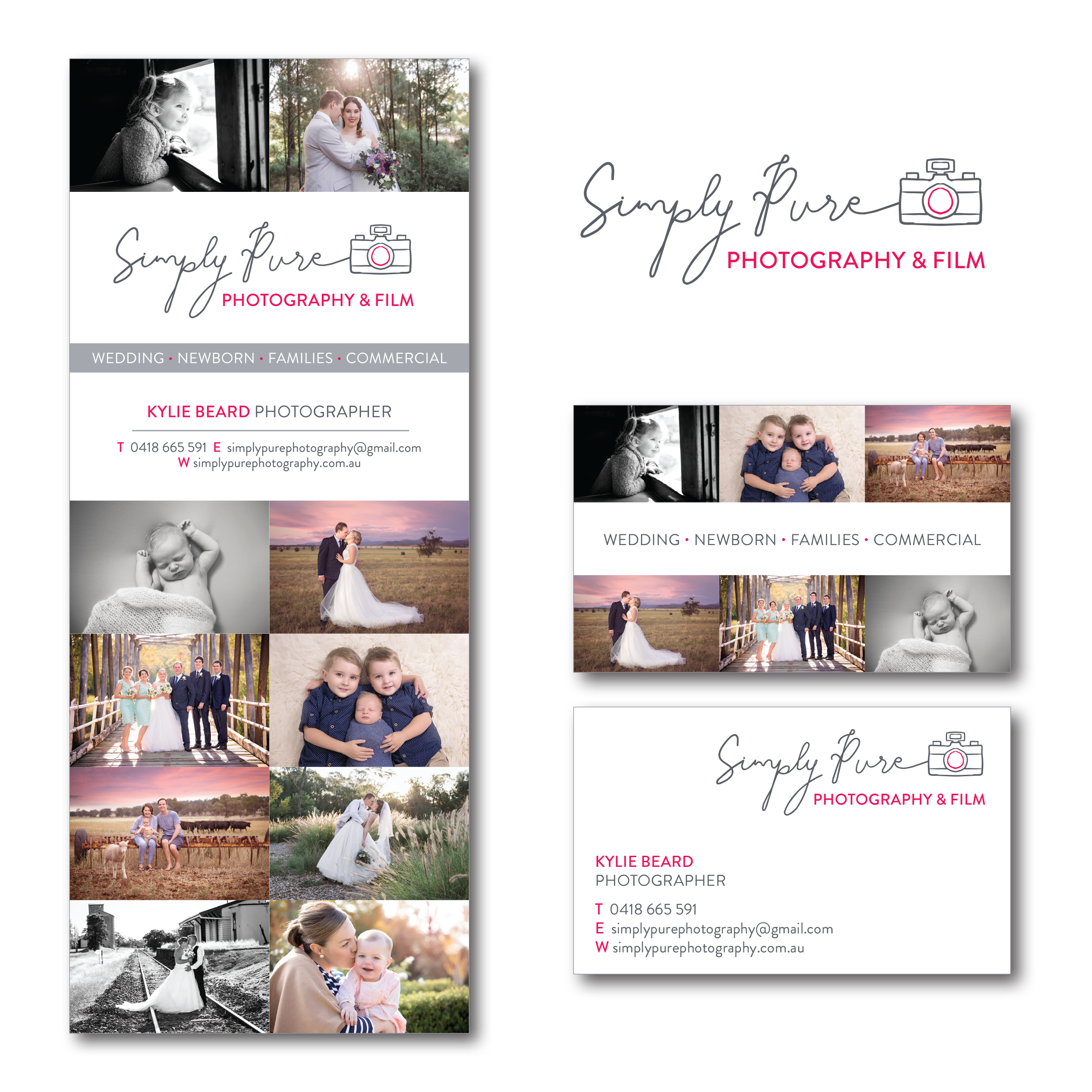 Simply Pure Photography Branding