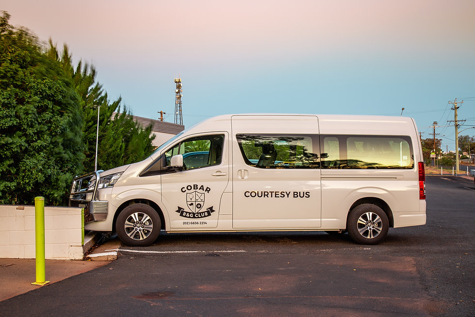 Cobar Bowling & Golf Club Courtesy Bus