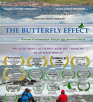 THE BUTTERFLY EFFECT. FROM COLMENAR VIEJ