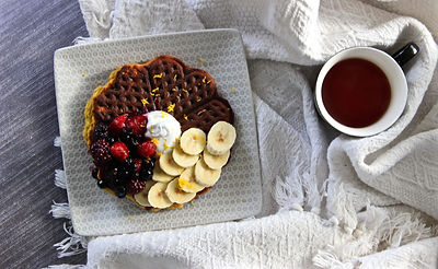Health, holistic, natural, breast health, wellbeing, Tessa Hopson, BRCA, inspiration, nourish, empowerment, exercise, sugar free, waffles, paleo, paleo waffles, waffle recipe, buckwheat waffles