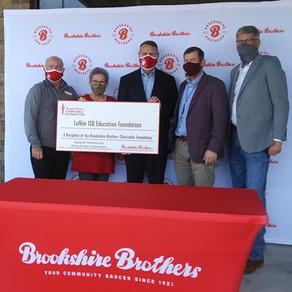 Brookshire Brothers Charitable Foundation Donates $3,000