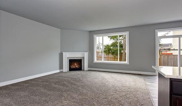 Professional Luxury Home Living Room Carpet Installation