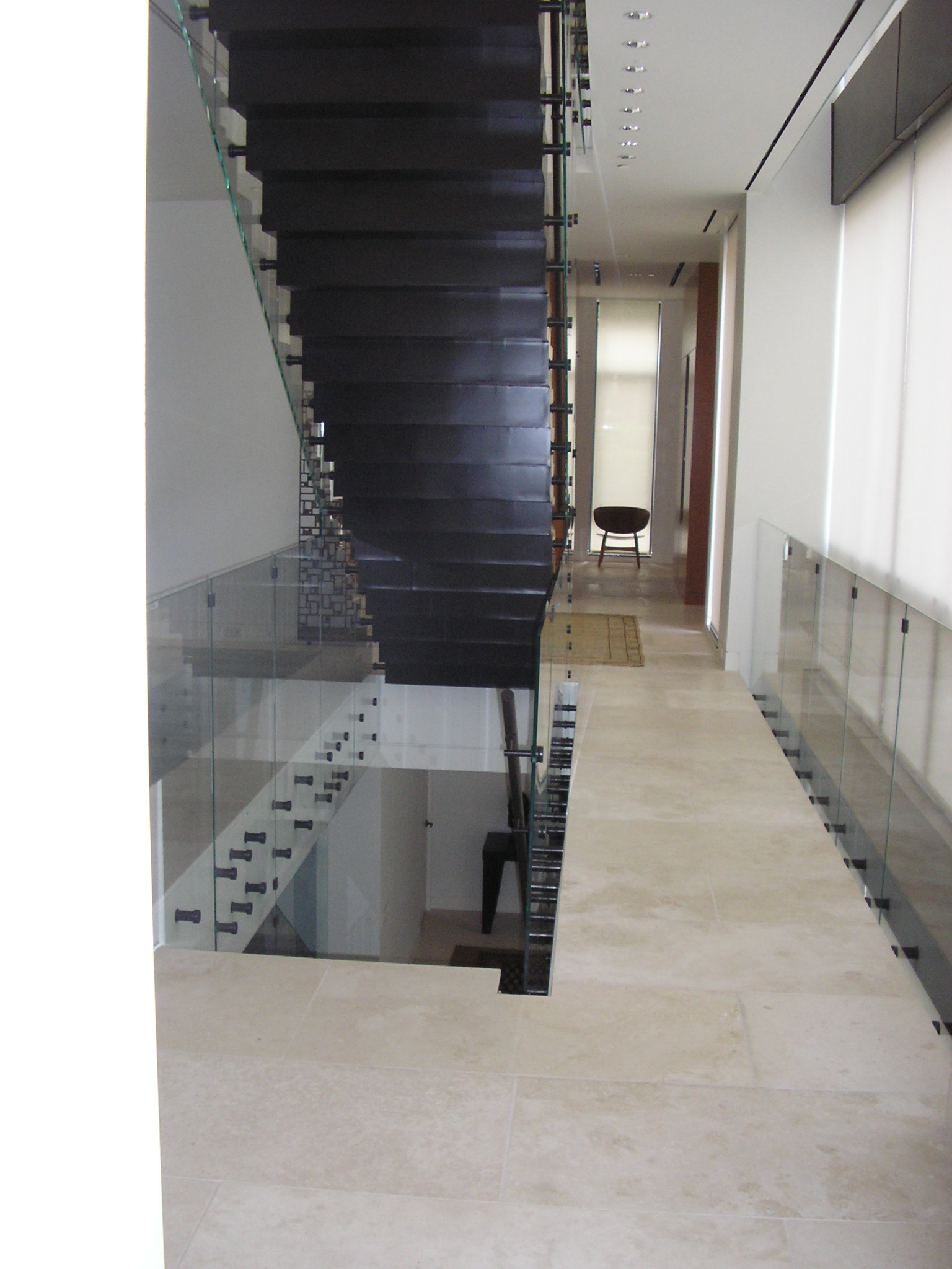 Floating Glass Railings