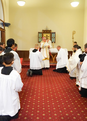 NZ Ordinations 14 - Pontifical Blessing
