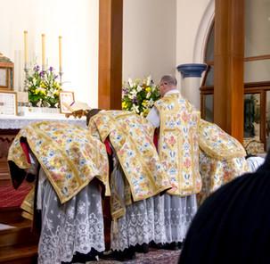 Fr Boyce's First Mass - 17