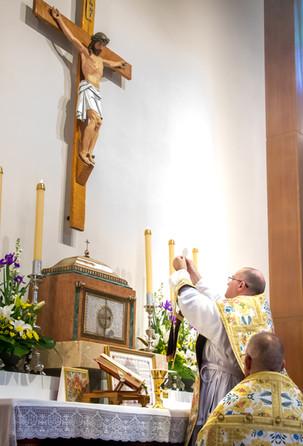 Fr Boyce's First Mass - 65
