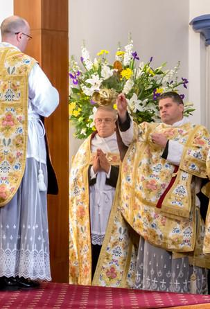 Fr Boyce's First Mass - 22