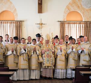 Ordination to the Subdiaconate Group Pho