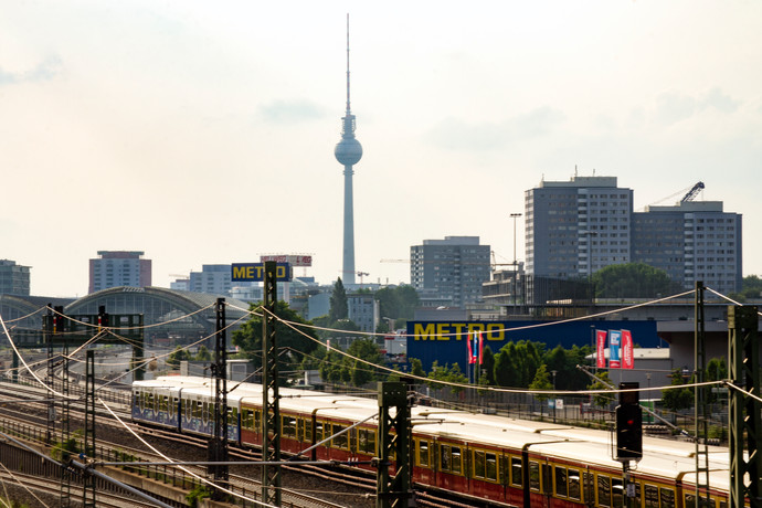 Bahnhof East Berlin