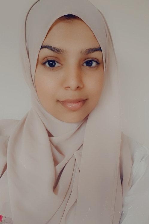 English by Hamna Shaikh Omar Starts at $25/hr
