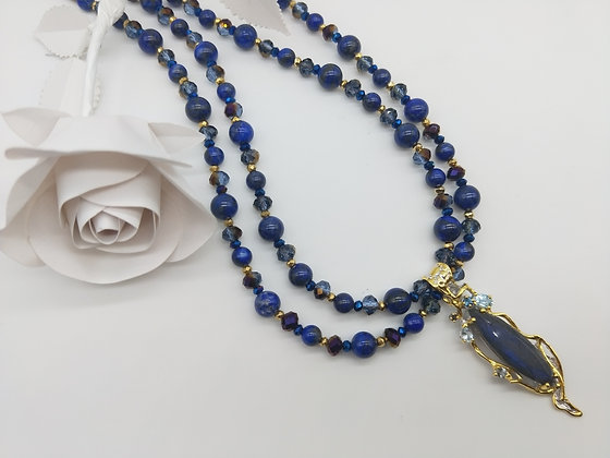 Opulence Lapis lazuli and Labradorite