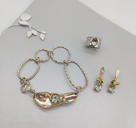Avant  Green Amethyst Collection