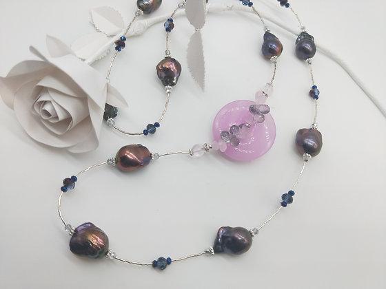 Opulence Peacock pearl