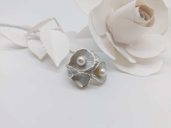 Blush Ring with Pearl