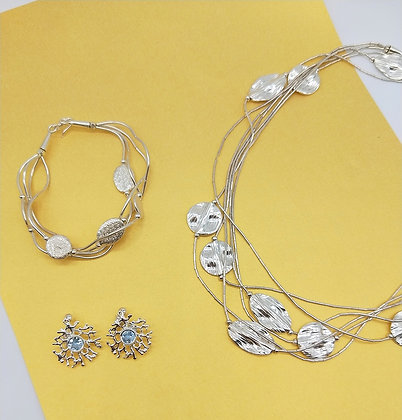 Liquid Silver and Topaz Collection