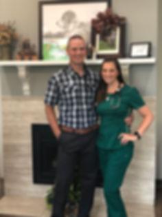 Veterinarians Dr. DJ and Sarah Weimer of Heartland Vet Care