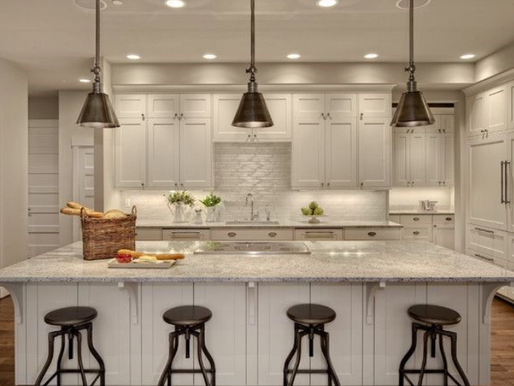 The 3 Rules of Kitchen Lighting + Tips