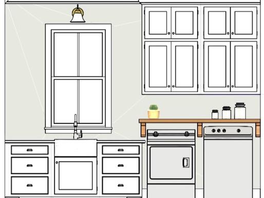 Debordieu Colony Laundry/Mudroom Design