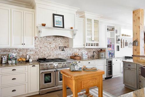 Partial Kitchen Design Plan