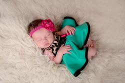 Melissa Squire- Leopard Baby Dress