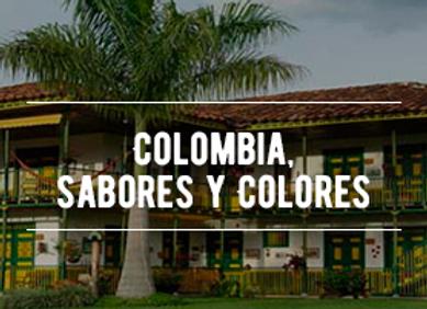 Colombia, Sabores y Colores - Piloto + Pasajero