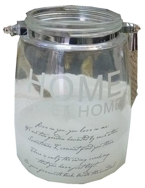 LG36 Vaso Lanterna In Vetro
