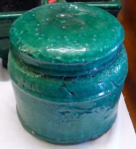 QQ29 Poutiche in Ceramica Verde