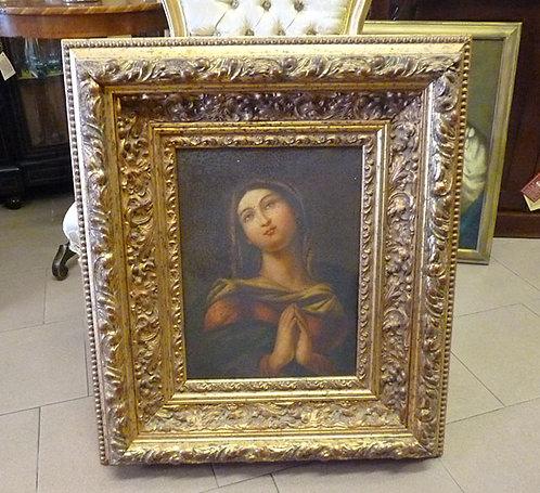 "N.09K ""Sacro Antiques"" dipinto ad olio su tela"