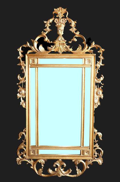 N.201 Specchiera in foglia oro