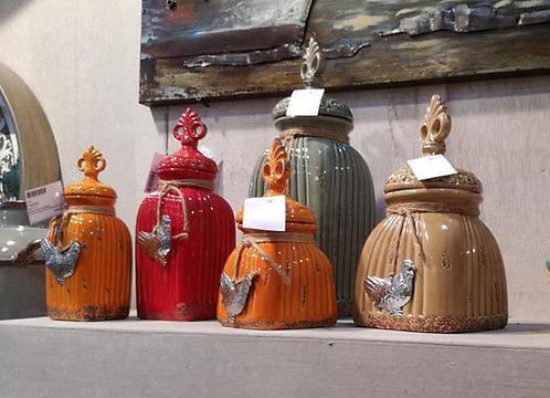 MT214 Barattolo In Ceramica