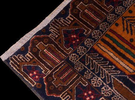 VA07877K Tappeto Blu Belucistan