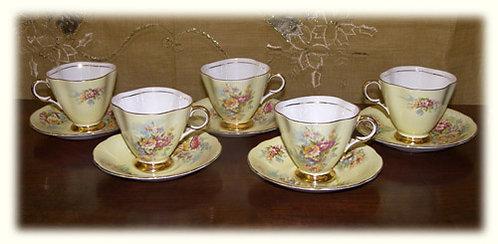 PR51 Servizio Da Caffè In Porcellana  Made In Bone Windsor China-England