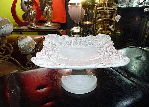 """MT252 Alzata """"Antik"""" In Ceramica"""