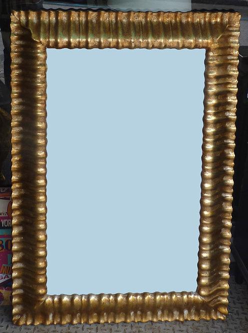N.131 Specchiera in foglia oro