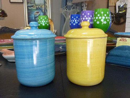 VT04 Barattoli Da Cucina Ceramica Di Vietri Dipinta a Mano