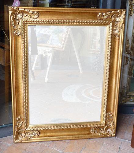 N.93 Specchiera in Foglia Oro