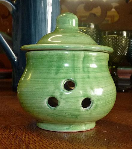 VT07 Porta Aglio Ceramica Di Vietri Dipinto a Mano