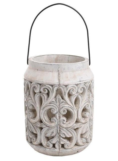 IN178 Lanterna Antique Creme