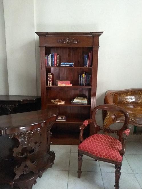 CV02 Libreria a giorno in mogano