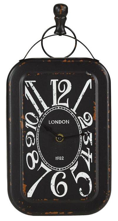 LG199 Orologio Nero Rettangolare