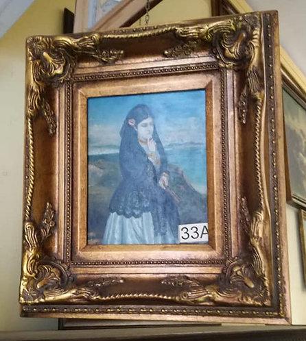 N.33A Dipinto ad olio su tavola