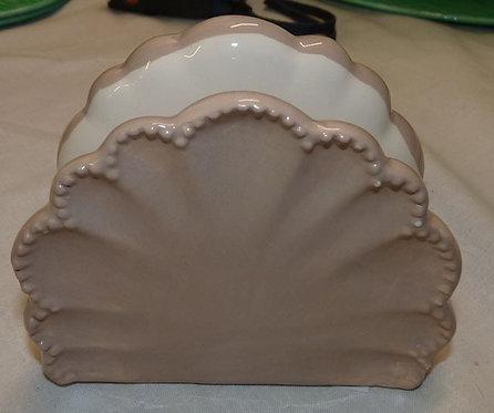 QQ56 Portatovaglioli in ceramica operata