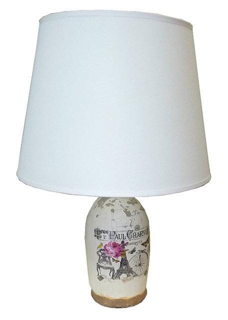 PT165 Lampada In Ceramica Brocca