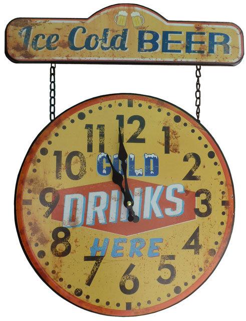 SL04 Orologio Metal Drinks