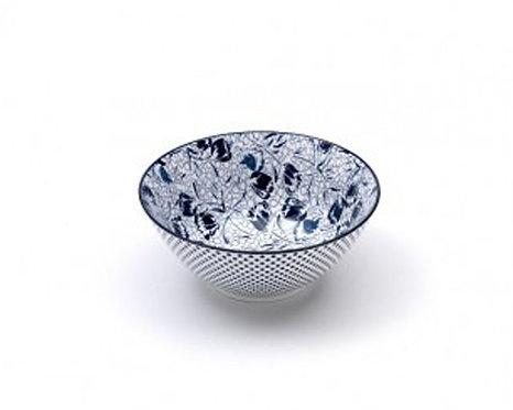 "RB0307 Set 6 Bowls Medie In Porcellana ""Rhapsody"""