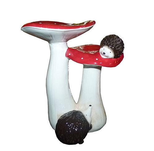 LG120 Coppia Di Funghi In Ceramica