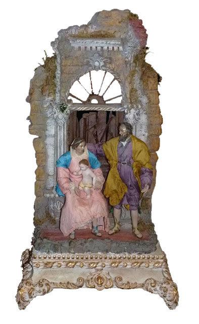PR75 Presepe Napoletano In Terracotta